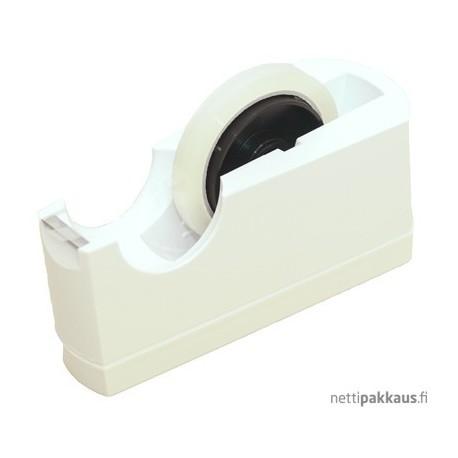 Pöytäteippikone, T2 25mm,  valkoinen